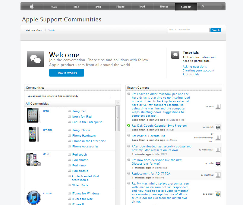 Apple-support-Community