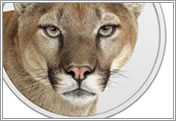 Mac OS X  10.8 Mountain Lion logo