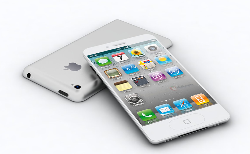 maquete iPhone5