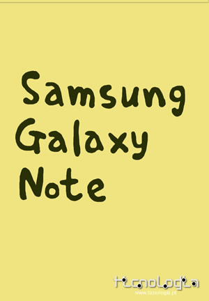 Samsung Galaxy NOTE notas