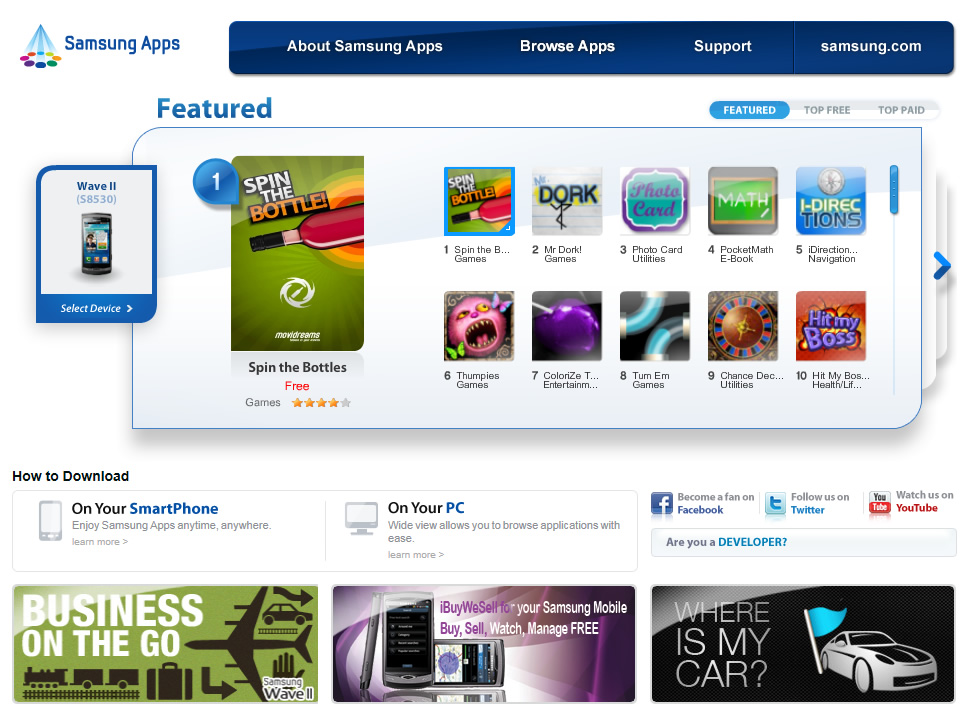 samsung_apps_web_page