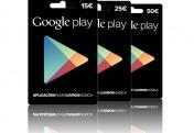 Vales de Desconto Google Play