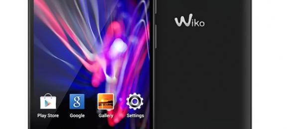 Wiko WAX - preto