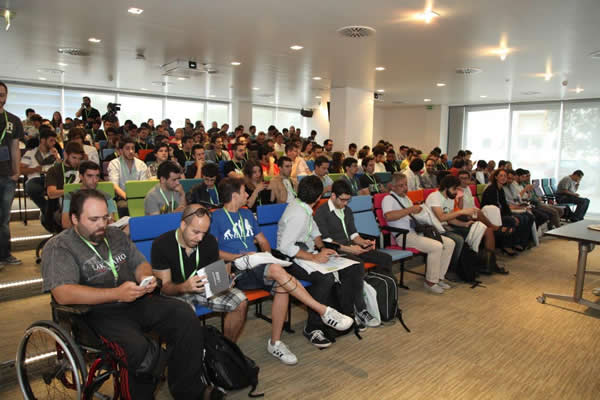 Game Dev camp 2014 - Auditório Azure
