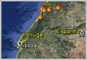 mapa de fogos em portugal hoje Acompanhe o mapa de incêndios e fogos florestais activos em tempo  mapa de fogos em portugal hoje